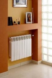 Алюминиевые радиаторы отопления 500мм 80мм секция, гарантия 15 лет, бесплатная достака