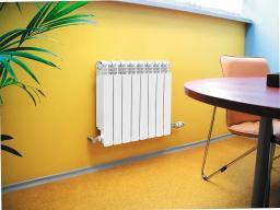 Алюминиевые радиаторы отопления 500мм 96мм секция, гарантия 15 лет, бесплатная достака