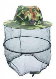 Накомарник-шляпа (камуфляж) с 2 кольцами