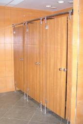 Крепеж фурнитура нержавеющая для кабинок туалетных сантехнических. Перегородки Hpl