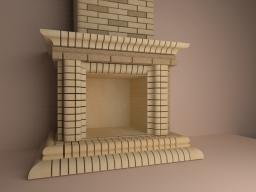 Фасонный кирпич для облицовки каминов и барбекю