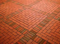 Тротуарный кирпич (тротуарная плитка, брусчатка)