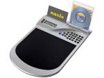 Коврик для мышки с калькулятором и подставкой под диски и визитки