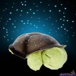Светильник-черепаха «Звездное небо» музыкальная (20х30 см)