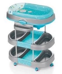 Столик для пеленания с ванночкой Brevi Acqua