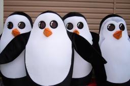 По России бродят 90 ростовых Пингвинов
