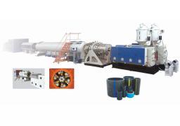 Линия по производству труб газо-водоснабжения из полиэтилен