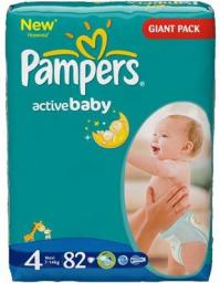 Pampers Active Baby Gyga Pack