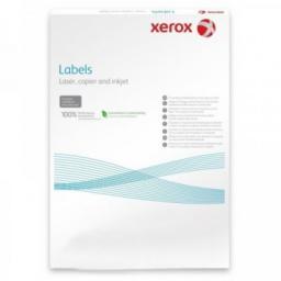 Наклейки Laser/Copier XEROX А4:65, 100 листов (38,1x21,2мм) [003R93177]