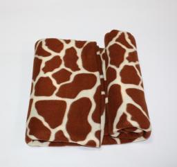 Плед-покрывало *Жираф* 200х200 флис