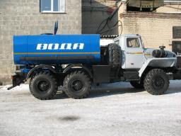 Автоцистерны АЦПТ-6,5 Урал 4320