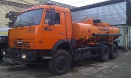 Автоцистерны АЦ-10 КамАЗ 65115