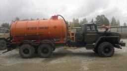 Автоцистерны вакуумные АКН-10 Урал 4320