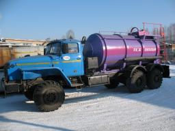 Автоцистерна АЦ-10 Урал 4320 Под солевые растворы