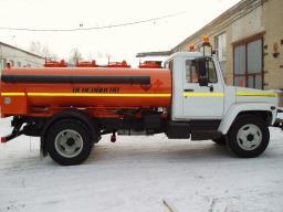 Автотопливозаправщик АТМЗ-4 ГАЗ 3307