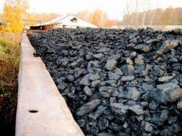 Уголь каменный в мешках по 25 литров. ДПК.