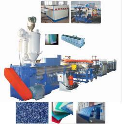Экструзионная линия для производства сотовых листов