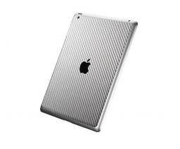 Защитная пленка SGP Cover Skin премиум для New iPad/iPad2 карбон, серый