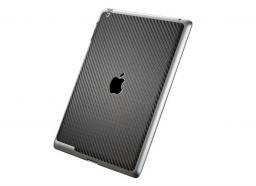 Защитная пленка SGP Cover Skin премиум для New iPad/iPad2 карбон, черный