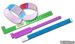 Бумажные браслеты с нанесением Вашего логотипа