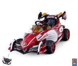 Электромобиль на 4-х колесах Sport kart Formula F1 красный F118