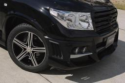 Расширители колесных арок WALD +30mm на Land Cruiser 200