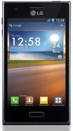 Телефон LG E612 Optimus L5 Black