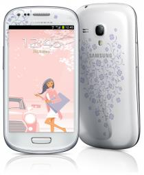 Телефон Samsung Galaxy S III mini GT-I8190 8Gb White La Fleur