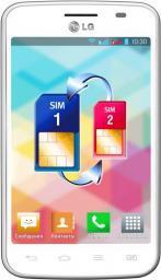 Телефон LG E445 Optimus L4 II Dual  White
