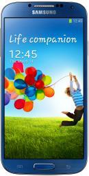 Телефон Samsung I9500 Galaxy S 4 16Gb Blue