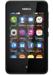 Телефон Nokia 501 Asha Dual Black