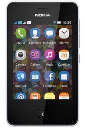Телефон Nokia 501 Asha Dual White