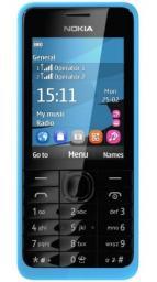 Телефон Nokia 301 Asha Dual Blue