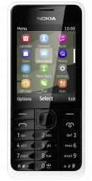 Телефон Nokia 301 Asha Dual White