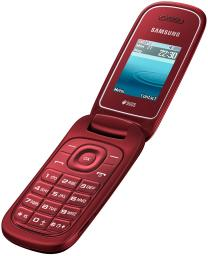 Телефон Samsung E1272 Red
