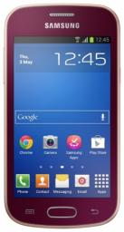 Телефон Samsung S7392 Galaxy Trend Wine Red