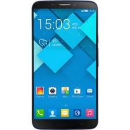 Телефон Alcatel OT 8020D Hero Bluish Black