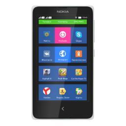 Телефон Nokia X Dual Sim White