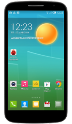 Телефон Alcatel OT 7050Y POP S9 Black