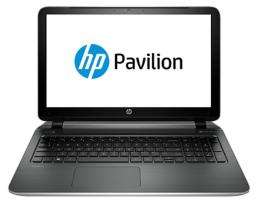 "Ноутбук HP Pavilion 15-p000sr 15.6""/AMD A4 6210(1.8Ghz)/4096Mb/500Gb/AMD Radeon R3/W8.1/natural silver"