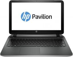 "Ноутбук HP Pavilion 15-p052sr 15.6""/Intel Core i3 4030U(1.9Ghz)/4096Mb/500Gb/nVidia GeForce 830M(2048Mb)/W8.1/natural silver"