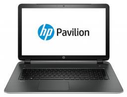 """Ноутбук HP Pavilion 17-f053sr 17.3""""/Intel Core i3 4030U(1.9Ghz)/4096Mb/500Gb/nVidia GeForce 830M(2048Mb)/W8.1/natural silver"""