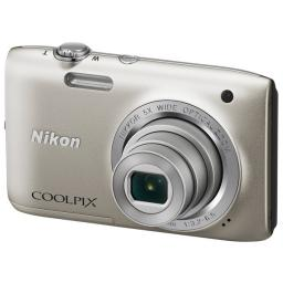 Фотоаппарат Nikon Coolpix S2800 silver