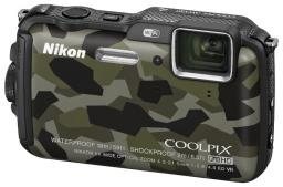 Фотоаппарат Nikon Coolpix AW120 Camouflage