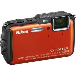 Фотоаппарат Nikon Coolpix AW120 Orange
