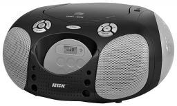 Аудиомагнитола BBK BX110U Black