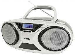 Аудиомагнитола BBK BX516U Black/Silver