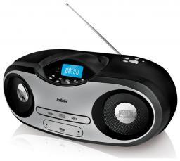 Аудиомагнитола BBK BX517U Black/Silver