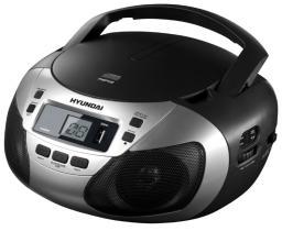 Аудиомагнитола Hyundai H-1447 Silver