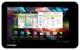 Планшетный компьютер Treelogic Gravis 73 3G/2sim/TV/GPS